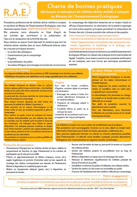 Charte bonnes pratiques loueurs tlb